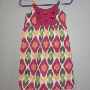 Gymboree Batik Summer 2T Sundress Print Dress